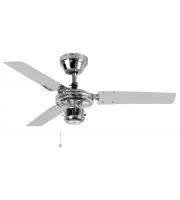 Fantasia Kroma 36 Inch Ceiling Fan without Light (Chrome)
