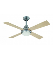 Fantasia Sigma 42 Inch Ceiling Fan with Light (Stainless Steel)