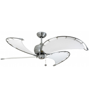 Fantasia Spinnaker 52 Inch Ceiling Fan without Light (Ss/stone Blades)