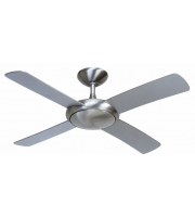 Fantasia Orion 44 Inch Ceiling Fan without Light No Light (Brushed Aluminium)