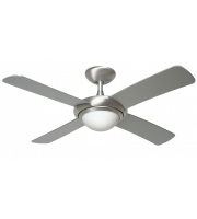 Fantasia Orion 44 Inch Ceiling Fan with Light (Brushed Aluminium/light Kit)
