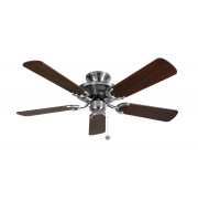Fantasia Mayfair 42 Inch Ceiling Fan without Light (Ssteel/dark Oak Blades)
