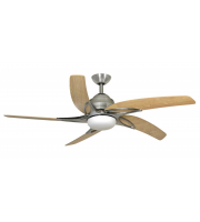 Fantasia Viper 44 Inch Ceiling Fan with LED Light  (Ss With Maple Blades)