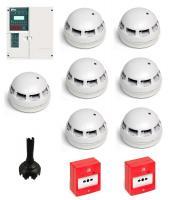 Fike Twinflex 2 Zone Fire Alarm Kit (White)