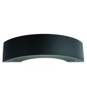Firstlight  3730GP Arch Integrated LED Outdoor Die Cast Aluminium Wall Fitting in Graphite Finish