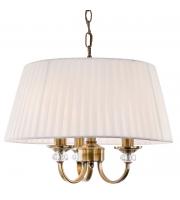 Firstlight Langham 3lt Pendant Light, Antique Brass (4865AB)