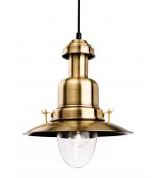 Firstlight 4874AB Fisherman Single Light Ceiling Pendant