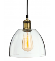 Firstlight 4876AB Empire One Light Domed Ceiling Pendant