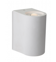 Firstlight Carlos 2 Light Led Plaster Wall Light