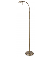 Firstlight Milan Led Floor Lamp (Antique Brass)