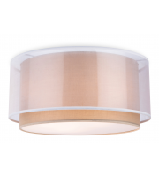 Firstlight Chicago Flush Ceiling Fitting (Taupe)