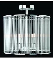 Firstlight Rialto 4 Light Semi Flush Ceiling LightRound (Polished Chrome)