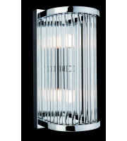 Firstlight Rialto 2 Light Wall Fitting In Polished Chrome SALE