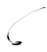 Firstlight Arco LED Table Lamp Polished Chrome