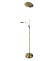 Firstlight Horizon LED Floor Lamp Antique Brass