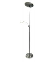 Firstlight Horizon LED Floor Lamp Brushed Steel
