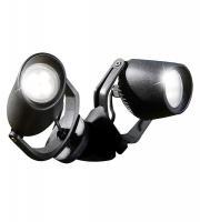 Fumagalli MiniTommy-EL Twin 2x3.5W 3000K Black LED Spike Light