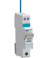 Hager ADA306G Small RCBO B Type 6 Amp 30mA 6kA (White)