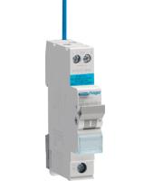 Hager ADA320G Small RCBO B Type 20 Amp 30mA 6kA (White)