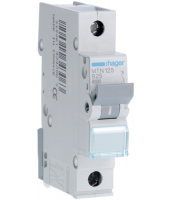 Hager Miniature Circuit Breaker 6kA Type B Single Pole (White)