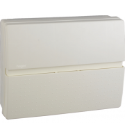 Hager 100A Insulated Enclosure Consumer Unit 10 Way (White)