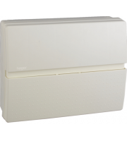 Hager 100A 30mA RCCB Insulated Enclosure Consumer Unit 8 Way (White)