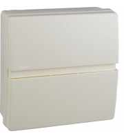 Hager 63A 30mA RCCB Insulated Enclosure Consumer Unit 6 Way (White)