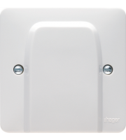 Hager 20A Flex Outlet Plate (White)