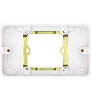 Hager 2 Gang Converter Frame (White)