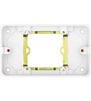 Hager 28mm  Deep Moulded Box (White)