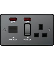 Hager CCU LED Indicator (Black Nickel)