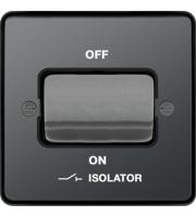 Hager 3 Pole Isolator Switch (Black Nickel)