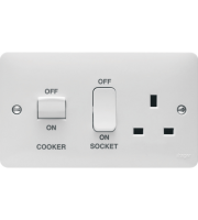 Hager Cooker Control Unit (White)