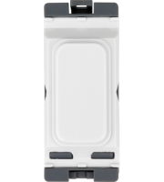 Hager Blank Module (White)