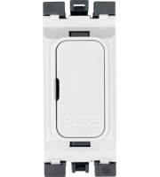 Hager Grid Fuse Carrier 13A (White)