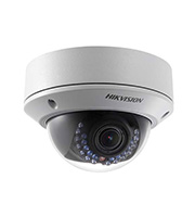 Hikvision 4MP 2.8-12mm Motorized zoom Lens IP Ext Dome Camera (White)