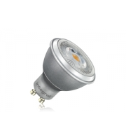 Integral GU10 PAR16 6.8W Eq. to 50W 2700K 380Lumens (345Lumens) 600 Cd 80Ra 36d Beam Angle, Silver Finish (Warm White)