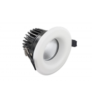 Integral 6W 3000K Fire Rated Static Downlight (Matt White)
