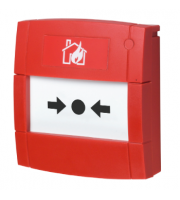 KAC Manual Call Point Flush Conventional (Red)