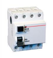Lewden 100A 300mA 4P 4 Module RCCB (White)