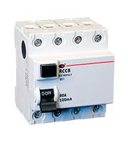 Lewden 80A 100mA 4P 4 Module RCCB (White)