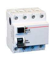 Lewden 80A 30mA 4P 4 Module RCCB (White)