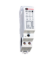 Lewden 20A 2 Pole Contactor (White)
