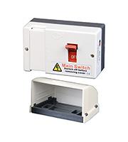 Lewden 80 AMP Double Pole Main Switch Fuse & Shroud (MSF100(CD))