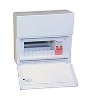 Lewden 8 Way Consumer Unit 100A Incomer (White)