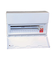 Lewden 16 Way Consumer Unit 100A Incomer (White)