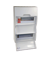 Lewden 22 Way Consumer Unit 100A Incomer (White)