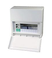 Lewden 8 Way Consumer Unit 80A 30mA Incomer (White)