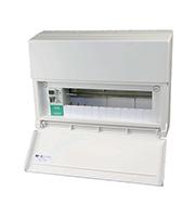 Lewden 12 Way Consumer Unit 80A 30mA Incomer (White)