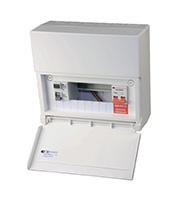 Lewden 6 Way Variable Split Consumer Unit (White)